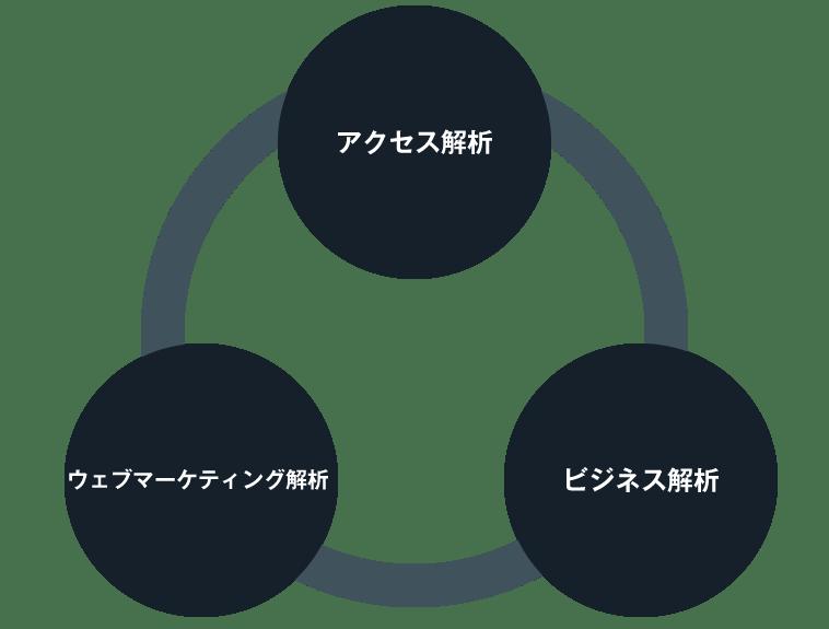 3つの解析を複合的に実施